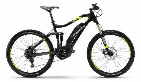 Велосипед Haibike SDURO FullSeven LT 4.0 400Wh черный 2018