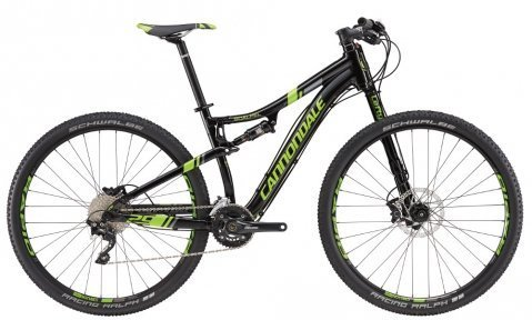 Велосипед Cannondale Scalpel 4 29 2016 black