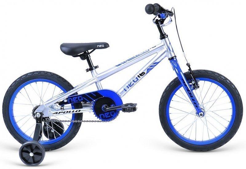 """Велосипед 16"""" Apollo Neo 16 boys синий/черный"""