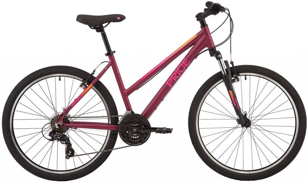 "Велосипед 26"" Pride Stella 6.1 (2020) cherry/pink"
