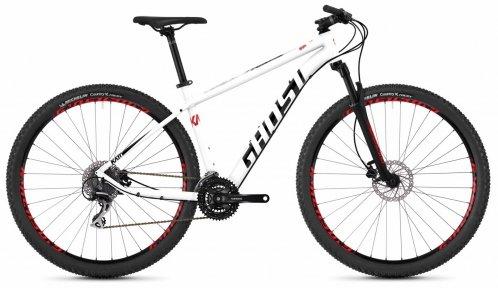 "Велосипед 29"" Ghost Kato 3.9 star white / night black / fiery red"