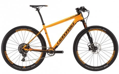 Велосипед Cannondale F-Si Carbon 2 2016 orange