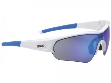 "Очки BSG-43 ""Select Team"" PC Smoke син. MLC линзы, белые с синим"