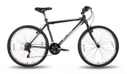 Велосипед PRIDE XC-1.0 2016 черно-белый матовый