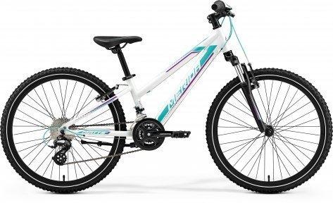 "Велосипед 24"" Merida Matts J24 2019 pearl white"