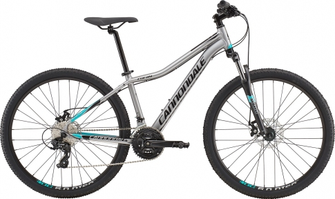 "Велосипед 27,5"" Cannondale Foray 3 ASH серый 2018"