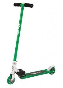 """Самокат Razor """"S"""" Scooter складной до 100 кг, зеленый"""