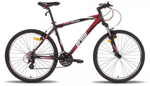 Велосипед PRIDE XC-300 2014 черно-красный матовый