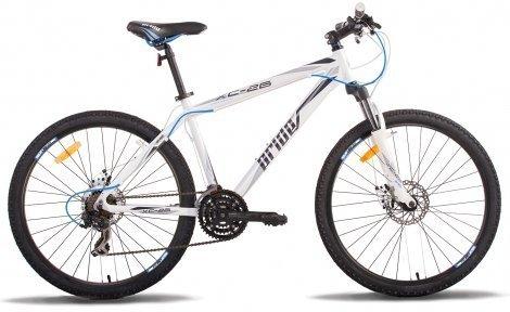 """Велосипед PRIDE XC-26 Disk 2014 бело-черный, размер рамы - 15"""""""