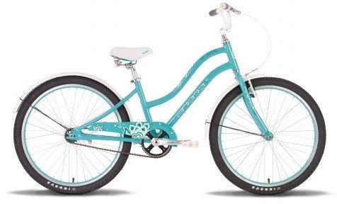 Велосипед PRIDE Sophie 2015 бирюзово-белый