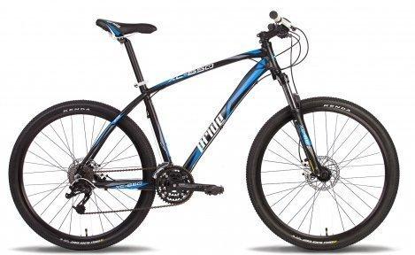 Велосипед PRIDE XC-650HD 2014 черно-синий матовый