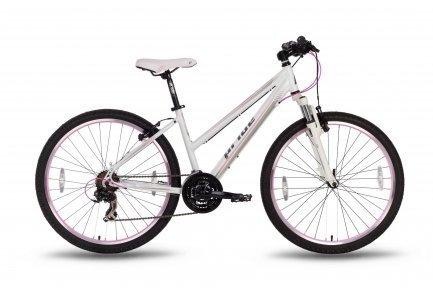 Велосипед PRIDE STELLA 2016 бело-розовый матовый