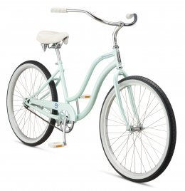 Велосипед Schwinn Cruiser One S1 women 2017 blue