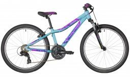Велосипед Bergamont Revox 24 Girl coral blue/purple/violet 2018