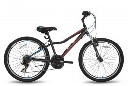 Велосипед PRIDE BRAVE 21SP 2016 черно-красный матовый