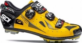 Велотуфли Sidi Dragon4 SRS CC Lucido Yellow/Black