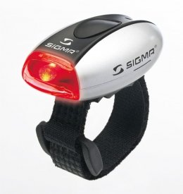 Габаритный свет Sigma MICRO SILVER/LED-Red
