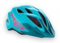 Шлем MET CrackerJack (52-57 cm) Light Blue Magenta matt