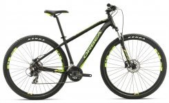 Велосипед Orbea MX 27 50 Black-green-yellow 2017