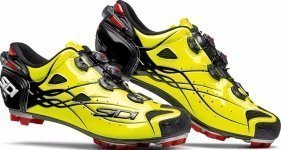 Велотуфли Sidi Tiger Carbon SRS Bright Yellow