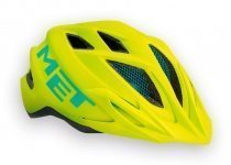 Шлем MET CrackerJack (52-57 cm) Safety Yellow matt