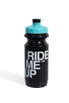 Фляга 600ml Green Cycle Ride Me Up, черно-голубая