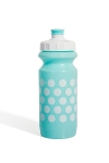 Фляга 600ml Green Cycle Polka Dot, бело-голубая
