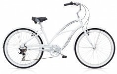 Велосипед ELECTRA Cruiser Lux 7D Ladies' White