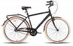 Велосипед PRIDE COMFORT 3 2015 черно-бежевый матовый