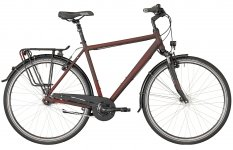 Велосипед Bergamont Horizon N7 CB Gent black red/dark red (matt) 2018
