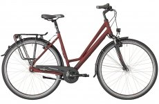 Велосипед Bergamont Horizon N7 CB Amsterdam dark red/dark red/black (matt) 2018