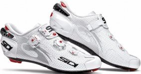 Велотуфли Sidi Wire Carbon Air Lucido White/White