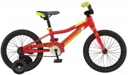 Велосипед CANNONDALE KIDS 16 2017 red