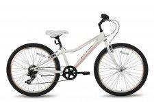 Велосипед PRIDE LANNY 7SP 2016 бело-персиковый матовый