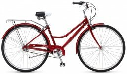 Велосипед Schwinn Cream 1 Women 2015 red