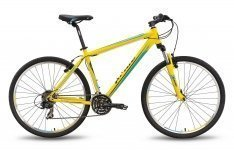 Велосипед PRIDE XC-650 V-br 2016 желто-синий матовый