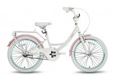 Велосипед PRIDE SANDY 2016 бело-розовый матовый