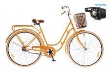 "Велосипед Dorozhnik RETRO 28"" Planetary Hub 2016 оранжевый"