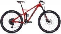 "Велосипед 27.5"" Ghost SL AMR 6.7 riot red / night black"