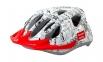 Шлем детский Green Cycle FAST FIVE размер 50-56см бело-черный