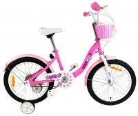 "Велосипед 18"" RoyalBaby Chipmunk MM Girls 18 (OFFICIAL UA) розовый"