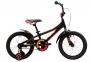 """Велосипед Pride Tiger 16"""" черный 2018"""
